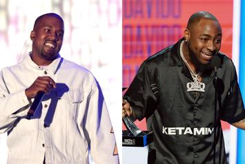 "Kanye West Puts A Gospel Spin On Davido's ""If"" During Sunday Service"