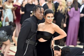 Kim Kardashian Shuts Down Travis Scott & Kylie Jenner Engagement Rumors