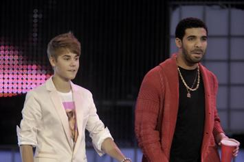 Drake Upset Justin Bieber Didn't Invite Him To Play Hockey With Maple Leafs
