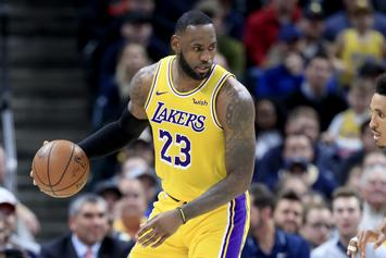 LeBron James' Injury Status Updated Ahead Of Blazers Matchup