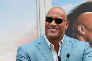 "Dwayne ""The Rock"" Johnson Looks Insanely Shredded While Training For ""Black Adam"""