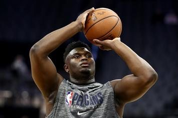 Zion Williamson Update: Pelicans Rookie Progresses To 5-On-5 Action