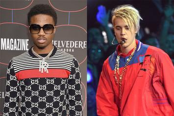 Roddy Ricch Prevents Justin Bieber's Attempt To Take Over Spotify Chart