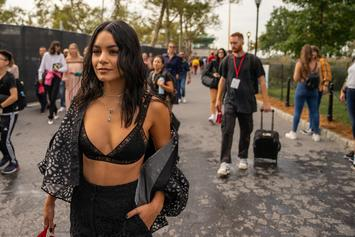 "Vanessa Hudgens Shares ""Dope"" Photo From ""Bad Boys For Life"" Set With Will Smith"