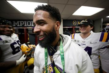 Report: Officer Who Was Slapped By Odell Beckham Jr. Will Not Press Charges
