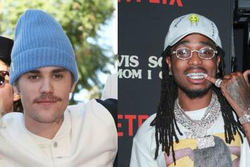 Justin Bieber & Quavo Spotted Filming Music Video For Forthcoming Single