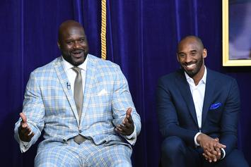 "Shaq Breaks Down In Tears While Speaking About Kobe Bryant: ""I Lost A Little Brother"""