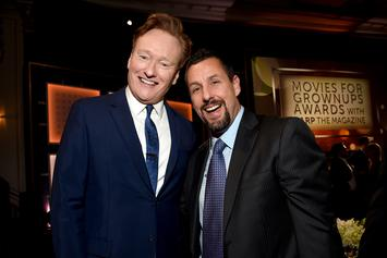 Conan O'Brien Roasts Adam Sandler While Presenting Best Actor Award