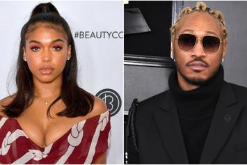 """Lori Harvey's """"Jumpin On A Jet"""" With Future Ahead Of Super Bowl Weekend"""
