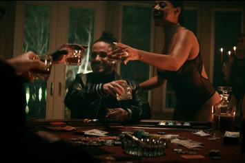 "Russ & Rick Ross Live Luxuriously In Opulent ""Guess What"" Video"