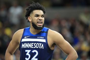 Karl-Anthony Towns Appears To Be Disgusted By T-Wolves Trade
