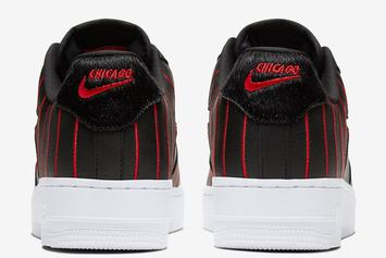 Bulls-Inspired Pinstripe Nike Air Force 1 Low Revealed: Official Photos