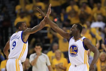 Draymond Green Sends Playful Threat To Andre Iguodala: Watch