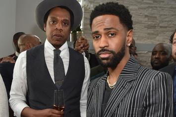 Big Sean & Jay-Z Sit Down For Meeting Of The Bosses
