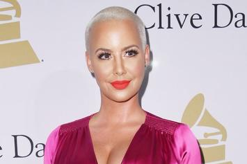 Amber Rose Head Tattoos Were Inspired By Kobe Bryant's Death