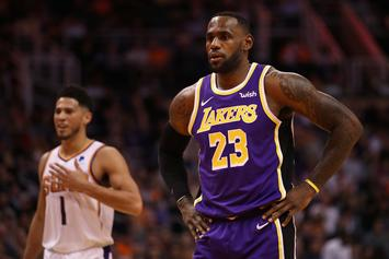 LeBron James Reacts To Devin Booker's All Star Nomination