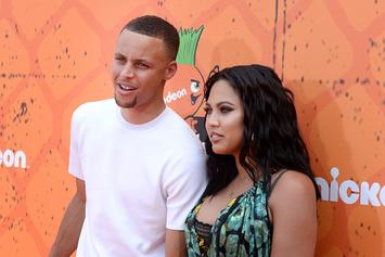 Steph Curry Sends IG Into A Frenzy With Sexy Photo Of Ayesha