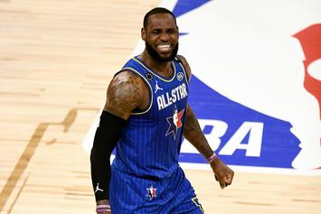 """LeBron James Sued For Allegedly Stealing """"More Than An Athlete"""" Slogan"""