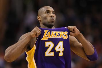 Kobe Bryant Honored By LA Kings With Gorgeous Warmup Jersey