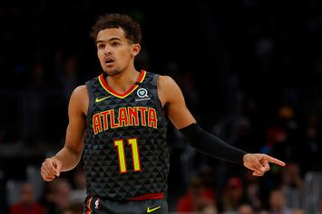 Trae Young Hits Mo Bamba With Playful Jabs After Monstrous Block