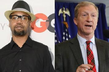 """Juvenile Joined By Democratic Candidate For """"Back That Azz Up"""" Performance"""