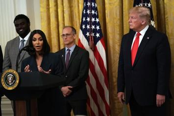 Kim Kardashian Visits White House With Women Trump Helped To Free