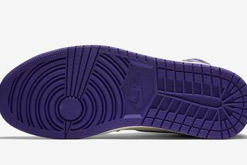 "Air Jordan 1 ""Court Purple"" Looks Perfect For Kings Fans"