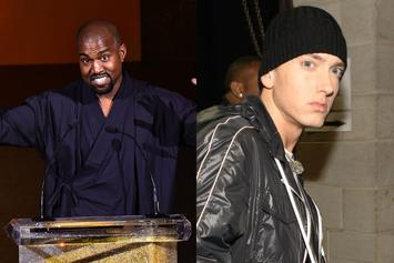Kanye West Once Tried To Steal Eminem's Drum Sounds