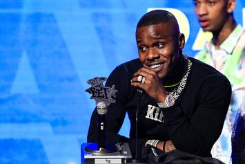 DaBaby Debunks B. Simone Dating Rumors With Music Video Trailer