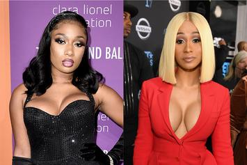 Megan Thee Stallion Denies Liking Cardi B Hate Comments