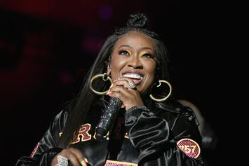 "Missy Elliott Fans Want To See Her Battle On IG Live But She Says ""Nah"""