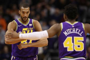 Donovan Mitchell & Rudy Gobert Reportedly On Unsalvageable Terms