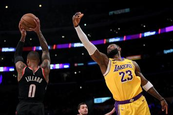 LeBron James & Damian Lillard Hilariously Go At Each Other On IG