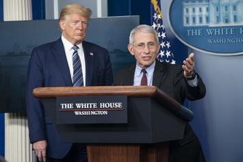 White House Responds To Rumors Of Trump Firing Dr. Fauci