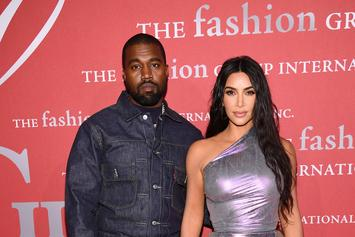 "Kanye West Takes Kids To Wyoming To Give Kim ""A Break"": Report"