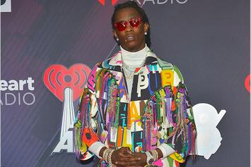 """Young Thug & His Daughter Do The """"Out West"""" Challenge On TikTok: Watch"""