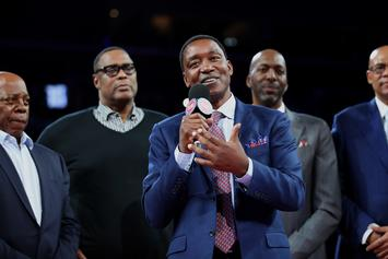 "Isiah Thomas Expresses Disappointment Over ""Dream Team"" Snub"