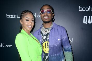 Quavo & Saweetie Look More In Love Than Ever Before