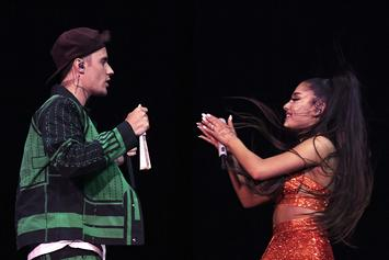 "Justin Bieber & Ariana Grande Announce New Collab ""Stuck With U"""