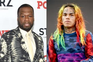 50 Cent Cops To Showing 6ix9ine How To Hide Money
