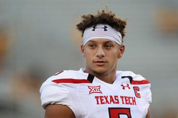 Patrick Mahomes To Give Speech At Texas Tech Graduation