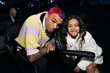 Chris Brown's Daughter Royalty Shows Dance Moves For #GoCrazyChallenge