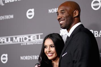 Vanessa Bryant Shares Powerful Kobe Photo In Support Of George Floyd