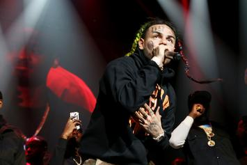 "6ix9ine & Akon Link Up And Preview ""Locked Up Part 2"""