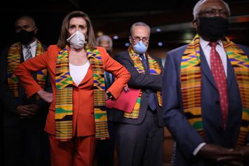 Democrats Criticized For Kneeling For George Floyd While Wearing Kente Cloth