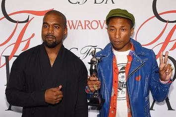 Kanye West Interviews Pharrell & Compares Him To Michael Jackson