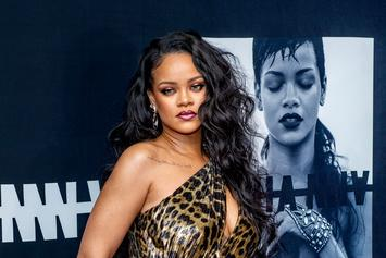 Rihanna Is Sizzling In Savage x Fenty Cut-Out Lingerie
