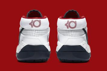 """Nike KD 13 """"USA"""" Dropping In Time For The 4th Of July: Photos"""