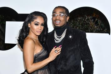 Saweetie's Reaction To Quavo's Surprise Birthday Gifts Is Priceless