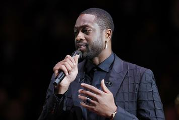 Dwyane Wade Reveals Miami Heat-Inspired Hairstyle